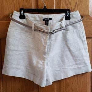 Apt. 9 linen shorts